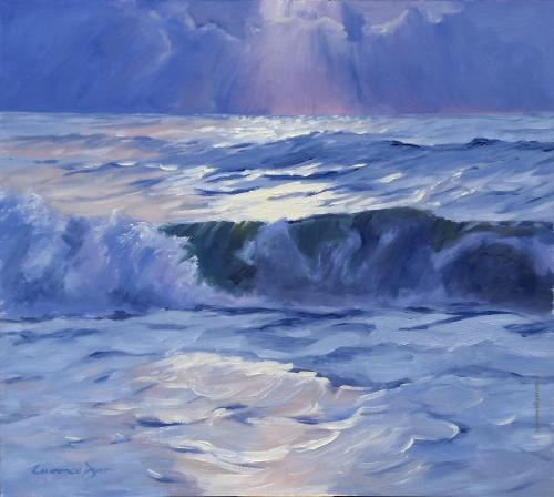Rolling Wave by Lawrence Dyer