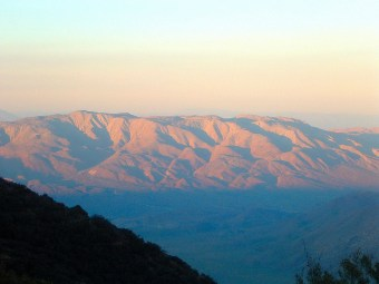 Sunset on Whale Peak
