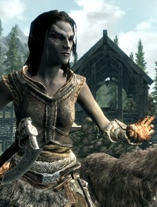 photo of a Dunmer woman