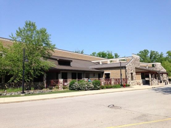 The impressive Flatrock Community Center