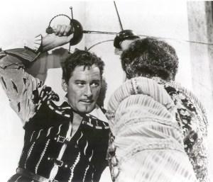 Errol Flynn sword fight image