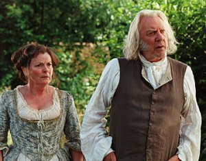 Pic of Mr and Mrs Bennet (Donald Sutherland and Brenda Blethyn)