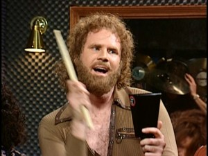 Will Ferrell in More Cowbell skit