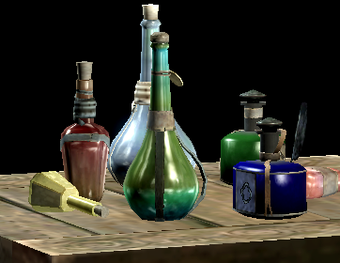 Pic of Skyrim potions and potions