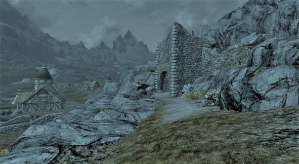 Secret exit from Whiterun