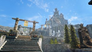 pic of the stairs to Dragonsreach