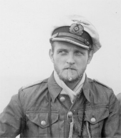 Erich Topp, one of the First )U-flotilla's early captains and later one of the top scoring Aces of WW2.