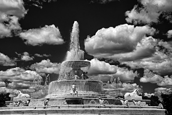 "J. Gordon Rodwan, ""Scott Fountain"", photography, 26x20, $200"