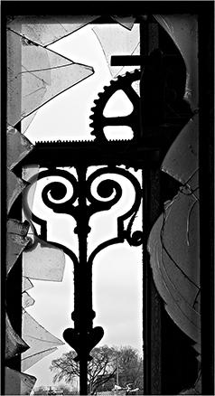 "J. Gordon Rodwan, ""Window Iron"", photograph, 16x20, $200"