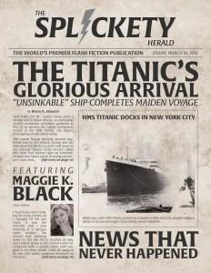 Splickety Magazine - March 2016 - Cover