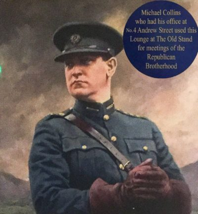 Michael Collins, painting