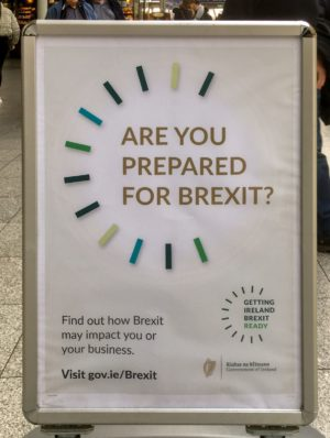 Sign - Are you prepared for Brexit?