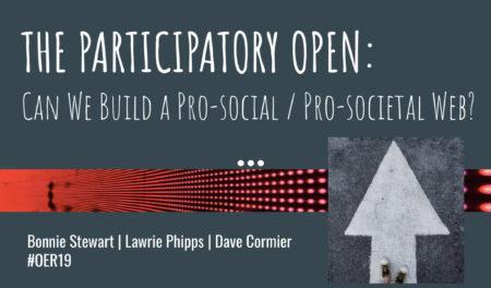 Slide - Participatory Open