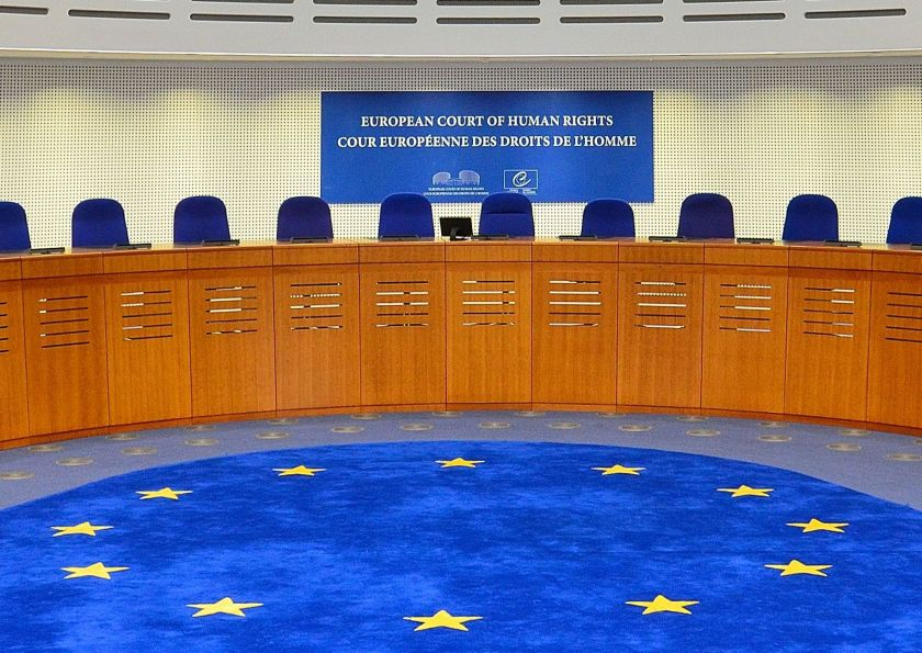 European Court of Human Rights, courtroom (Photo by Adrian Grycuk [CC BY-SA 3.0 PL])