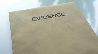 Evidence envelope