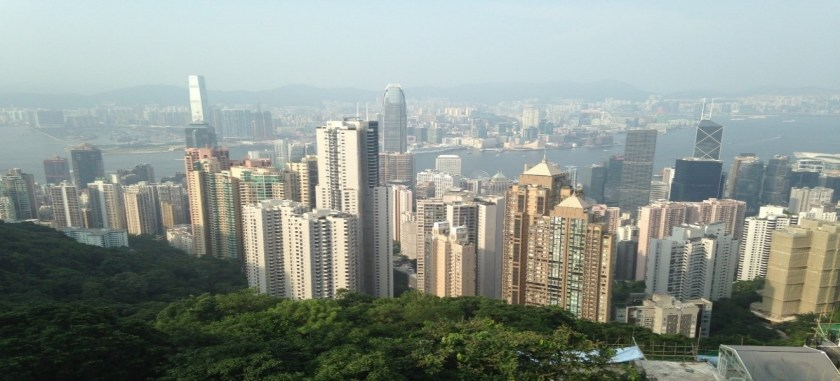 Personal picture of James Devenney's (Module Convenor) time in Hong Kong.