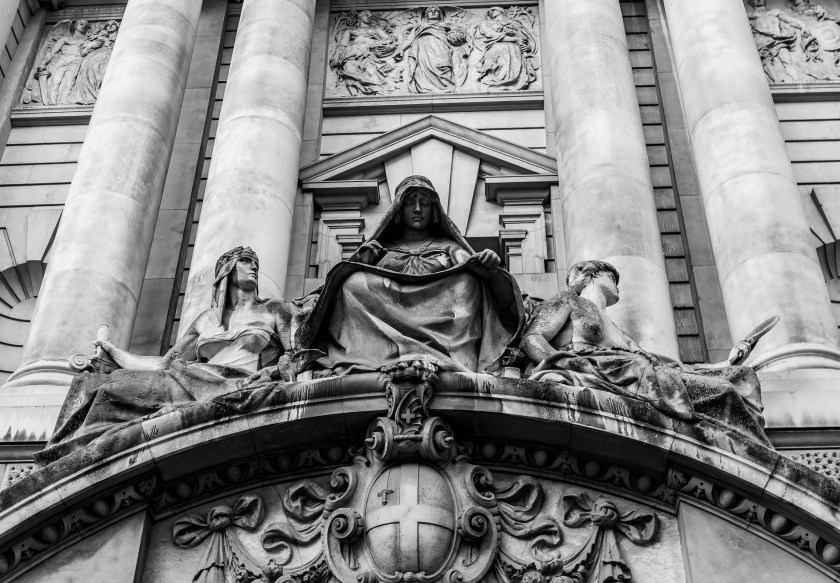 Building Tower, Criminal Court  - The Old Bailey