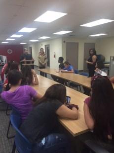 Students receive Raid Cross training