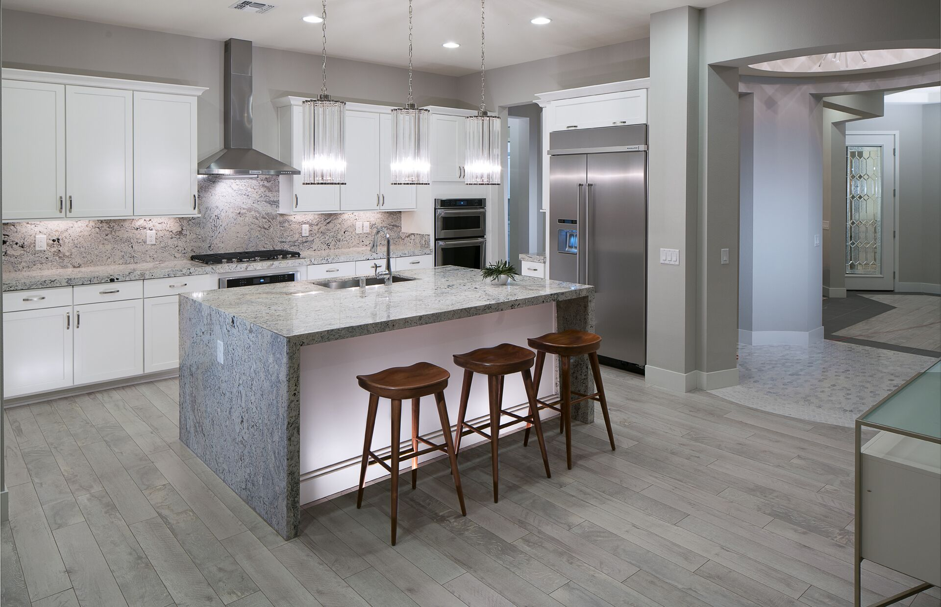 5 Kitchen Design Trends to Take From Model Homes - Lawson ... on Model Kitchen Picture  id=93001