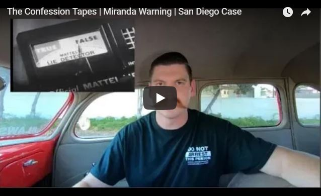 The Confession Tapes | Miranda Warning | San Diego Case