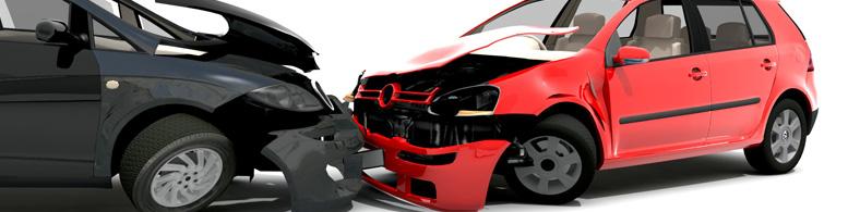 head on car accident