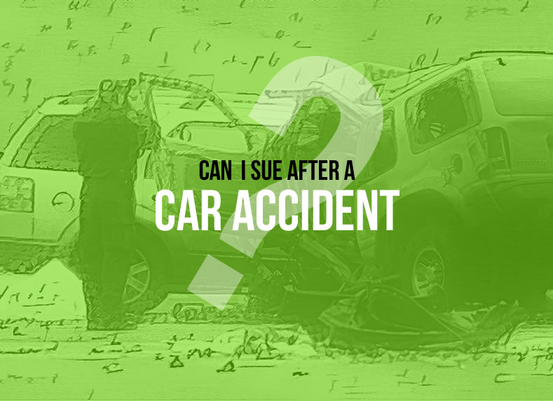 can i sue after car accident