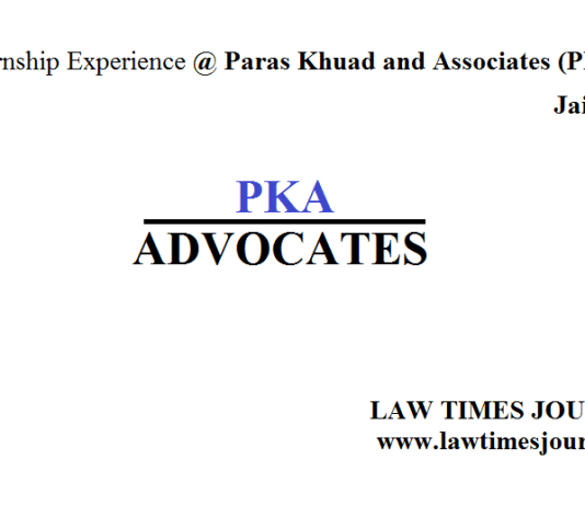 Paras Khuad and Associates