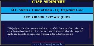 Taj Trapezium Case