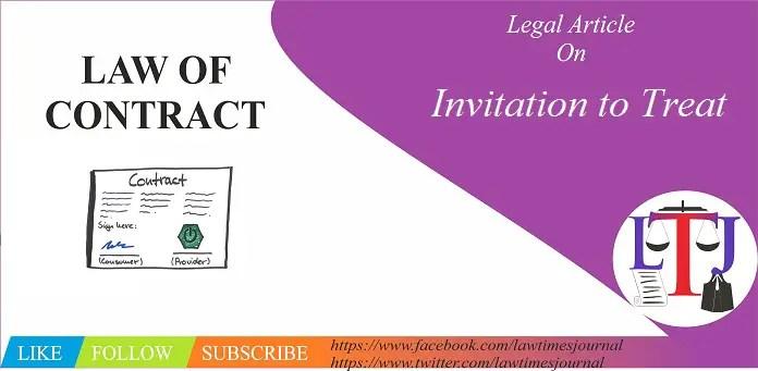 Invitation to Treat