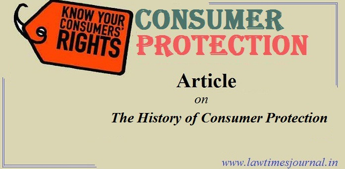 The History of Consumer Protection