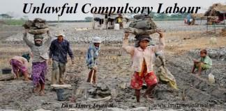 Unlawful Compulsory Labour