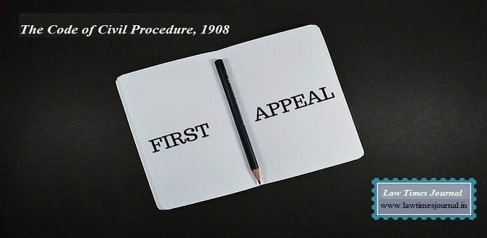First appeal