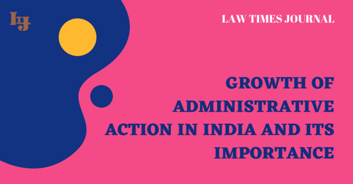 growth of Administrative law