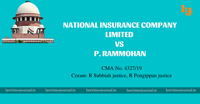 National Insurance Company Limited vs P. Rammohan