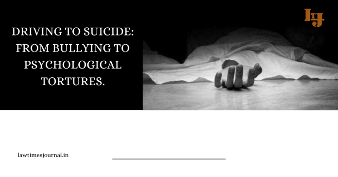 Driving to Suicide