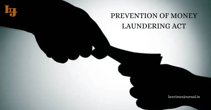 Prevention of Money-laundering Act 2002