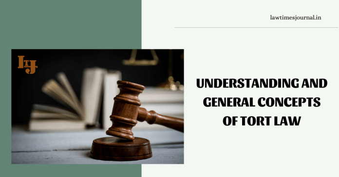Torts and its general concept