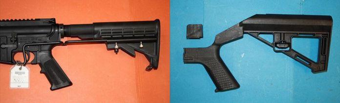 gun and bump stock