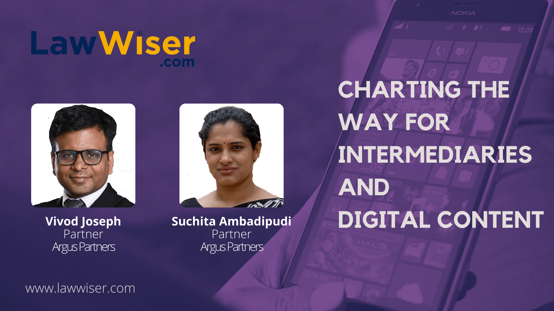 LawWiser | Charting the way for Intermediaries and Digital Content | #InConversation