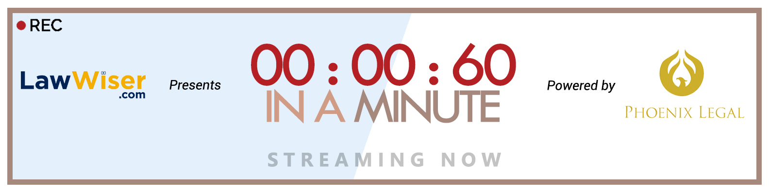 Website Banner For In A Minute