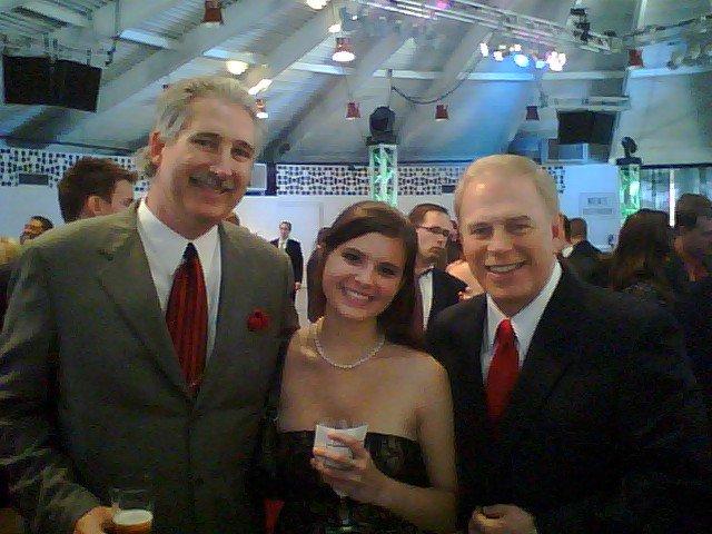 Jeff standing with Former Ohio Governor Ted Strickland