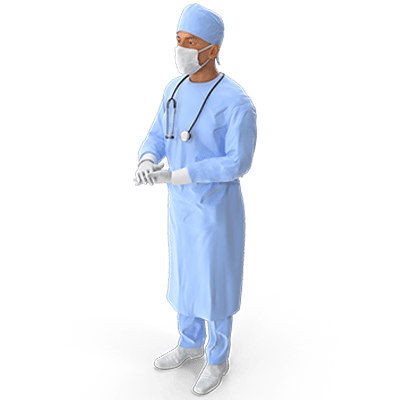 A surgeon, as this case is about medical malpractice.
