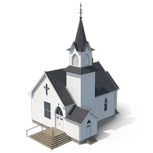 A church to show how influential the church is.
