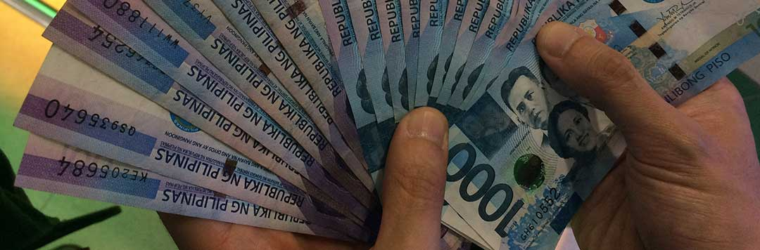 Philippine money to show that after the court proceedings, each spouse will then control his own estate.
