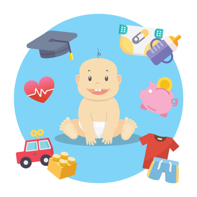 A child is entitled to support from both parents