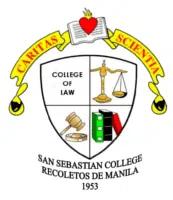 San Sebastian College of Law Logo