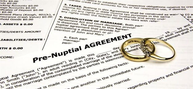 Blog Too Early To Give Prenuptial Agreement Legal Backing