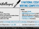 II VidhiAagaz National Essay Writing Competition