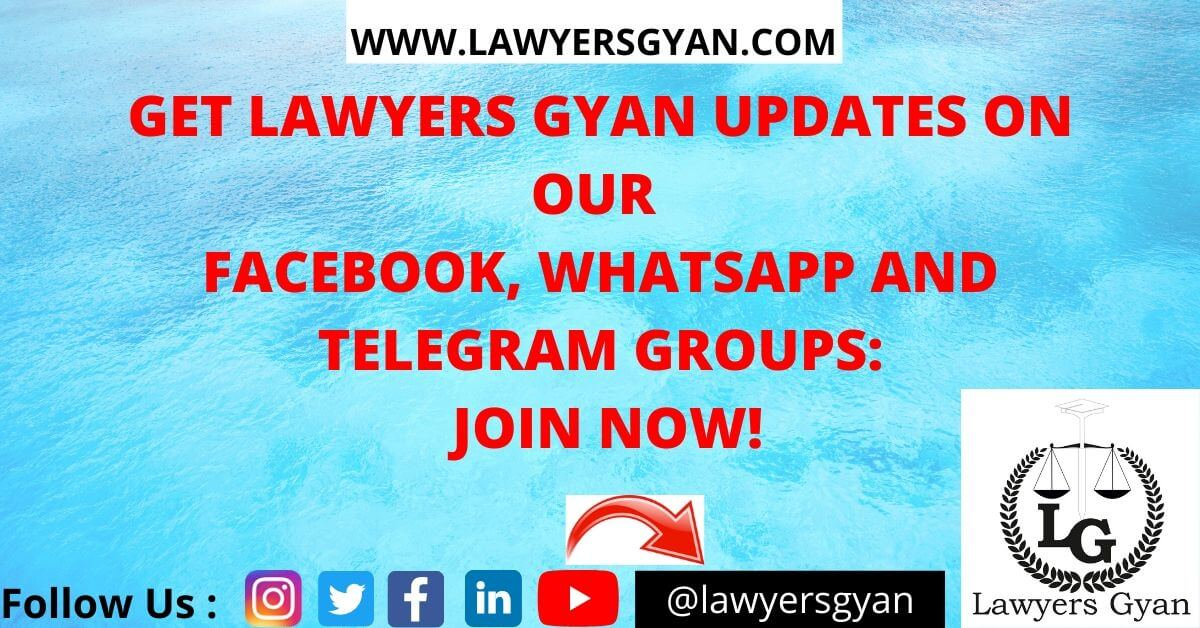 Lawyers Gyan Updates