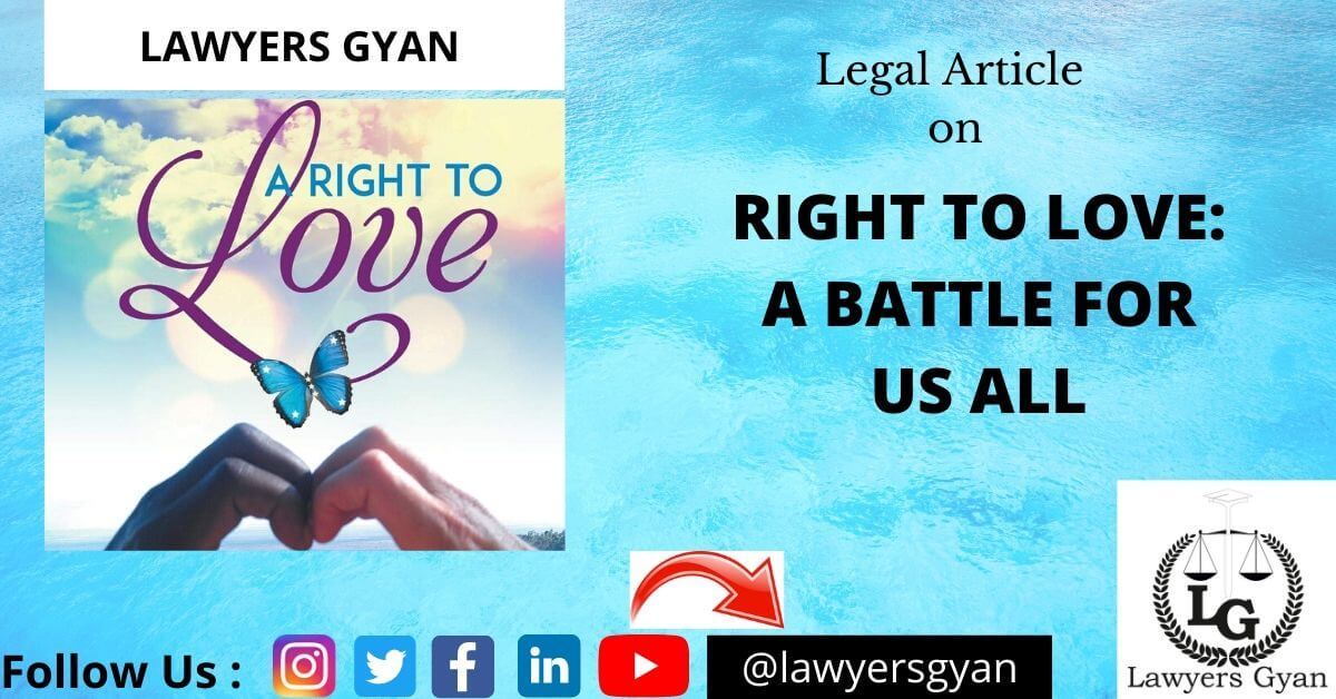 RIGHT TO LOVE